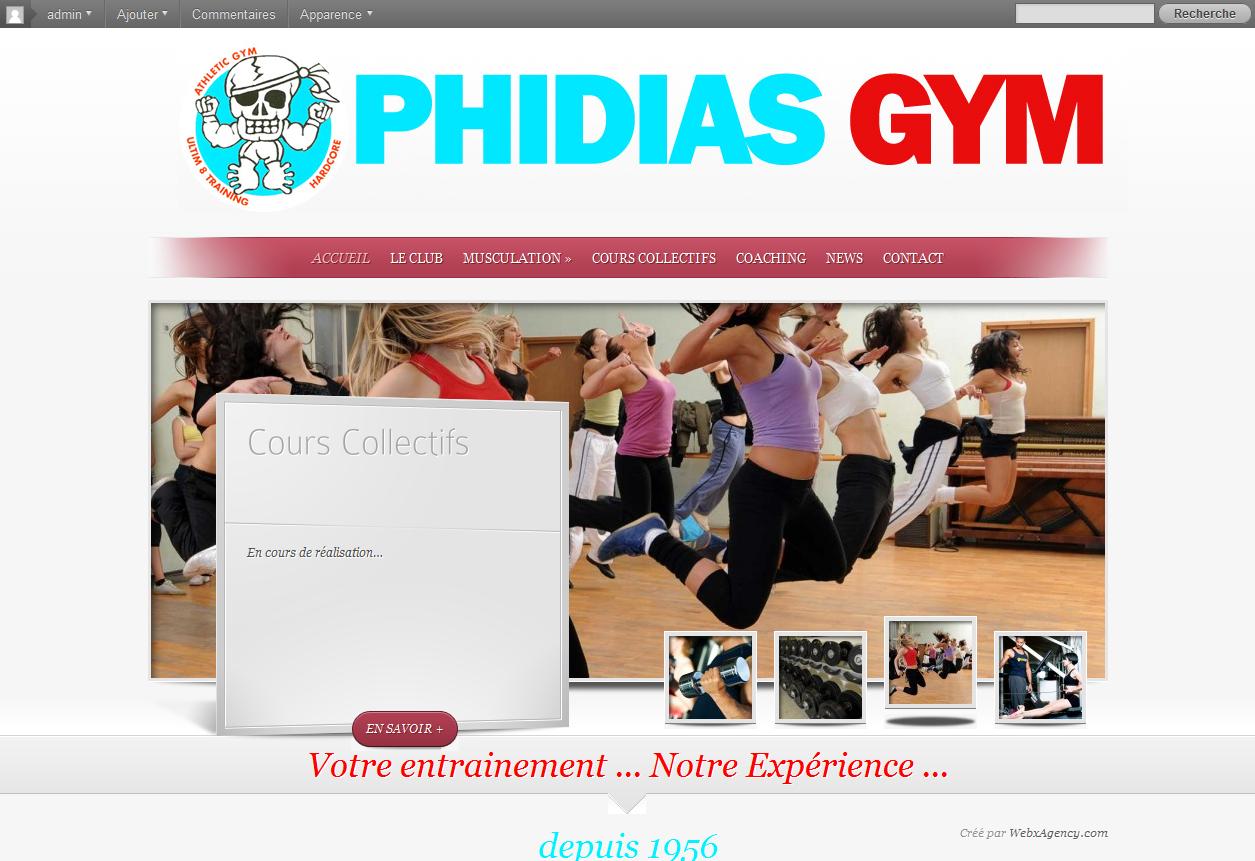 Site de Fitness